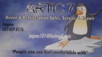 Artic Air Conditioning and Refrigeration - Jaques 083 609 8176
